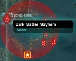 Dark Matter Major Arkfall