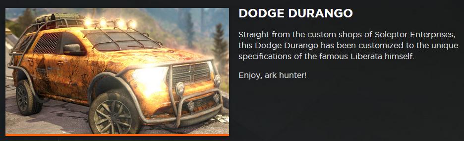 Code 8 Vehicles Ego Code 8 Dodge Durango